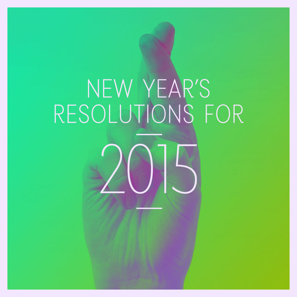 new year resolutions nuschool 2015