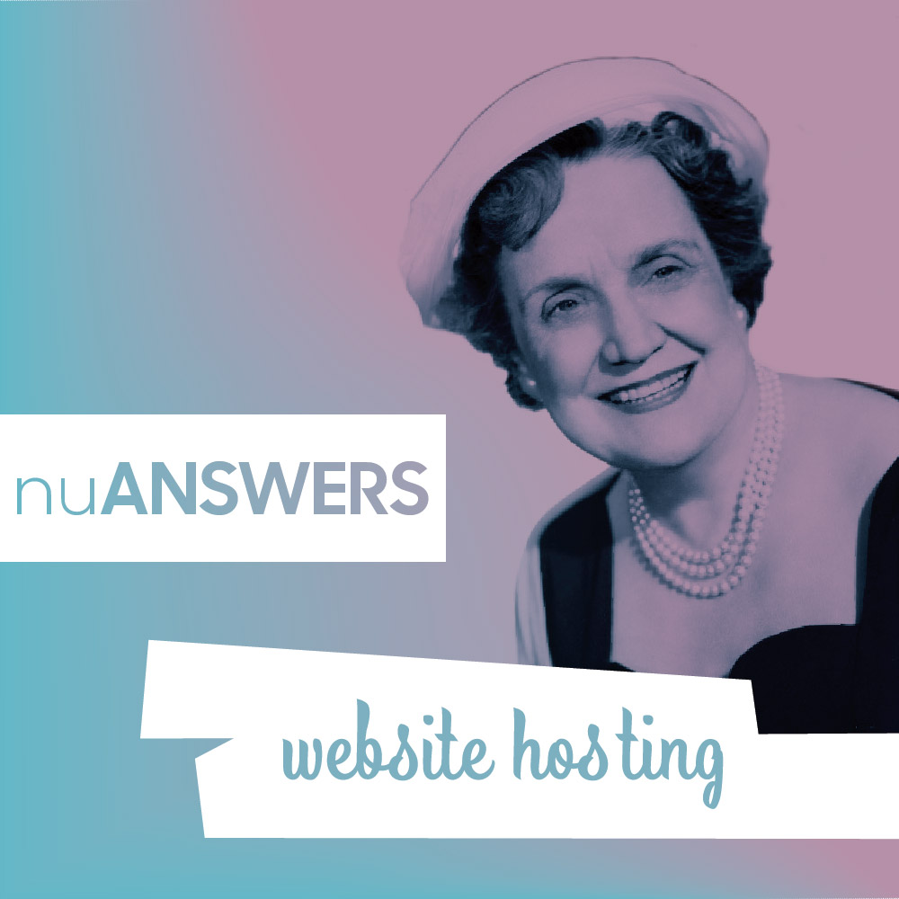 Who's responsible for setting up a website hosting for my client?