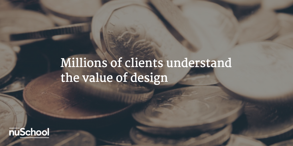 cheap logo : Millions of clients understand the value of design - nuschool