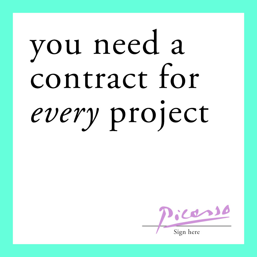 Why you need a contract for every project - nuschool