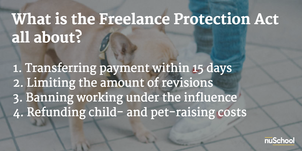 freelance protection act nuschool