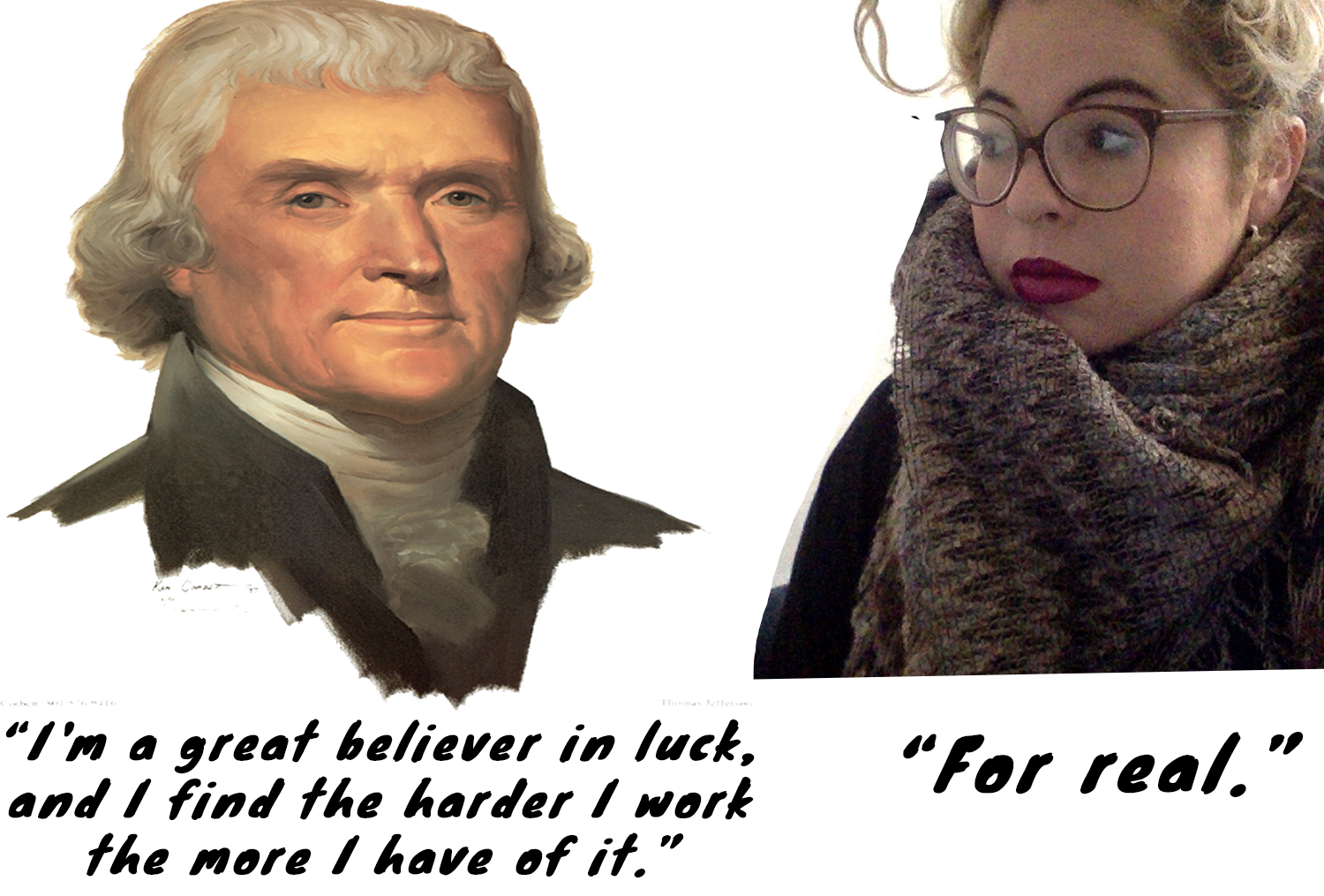 In conversation with Thomas Jefferson