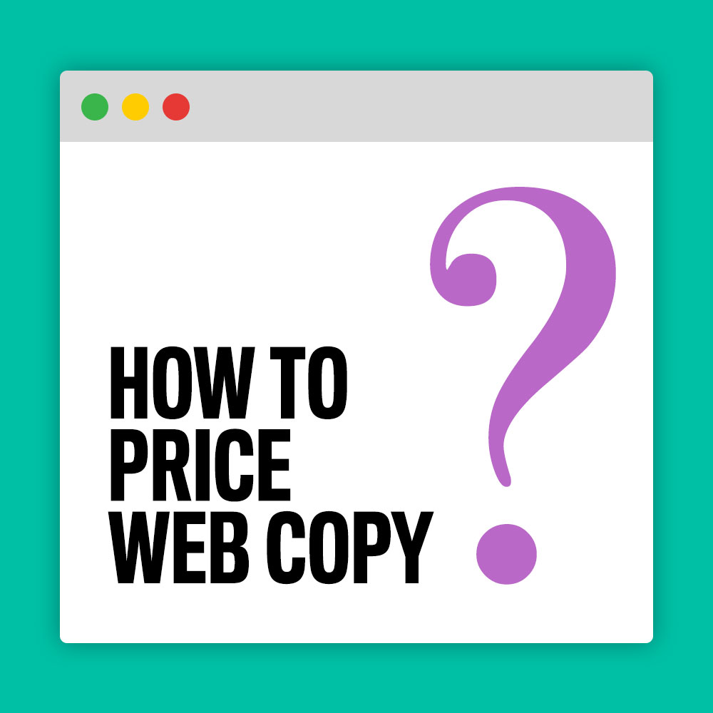 How To Price Web Copy