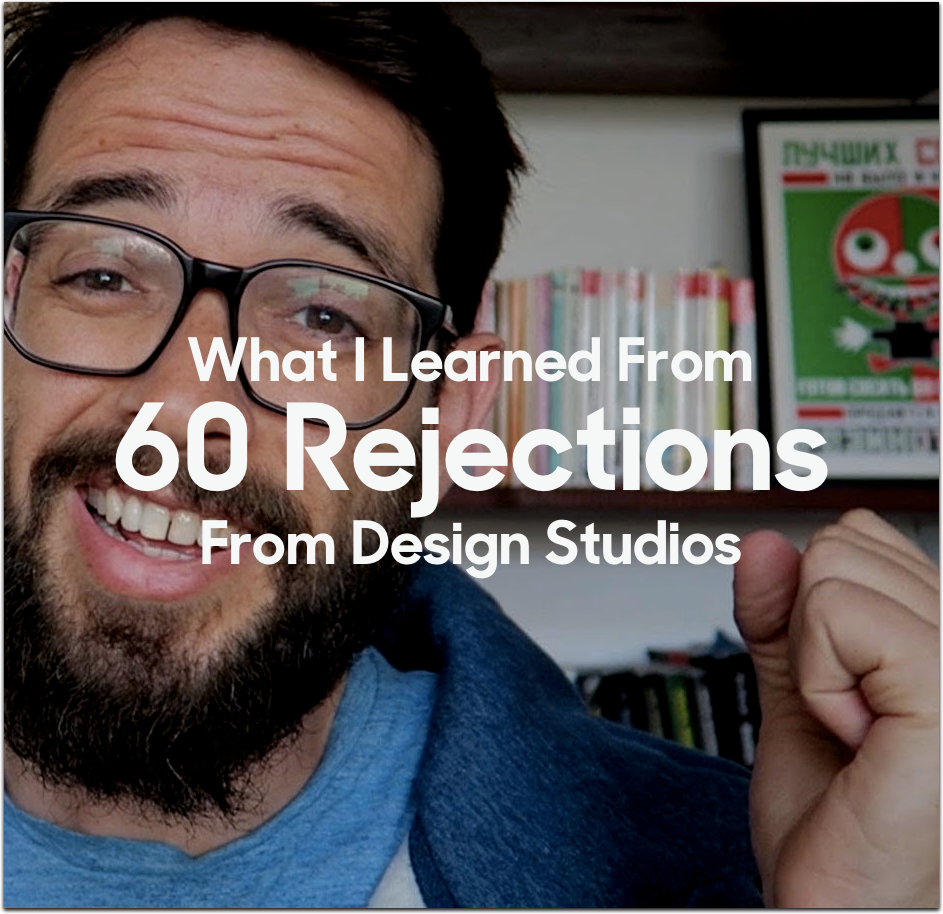 What I learned From 60 Rejections