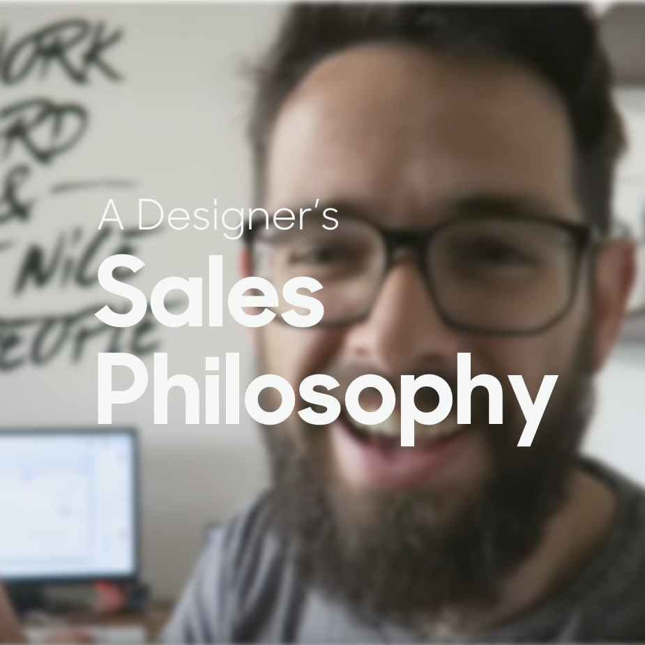 designer's sales philosophy